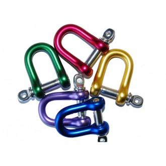 Szekla Ø 9,8 aluminiowa tradycyjna kolorowa