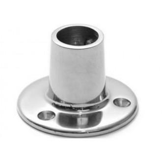 Podstawa słupka Relingu ø 22 mm okrągła