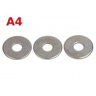 M4 DIN 9021 A4 podkładka kwasoodporna szeroka