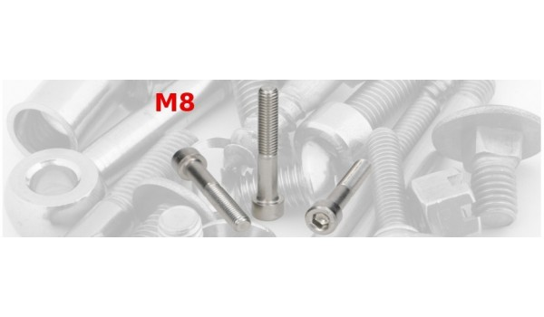 E-INOX Śruby imbusowe nierdzewneDIN 912 A2 M8 BEJMET