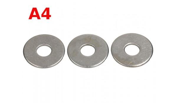 Podkładki szerokie DIN 9021 A4